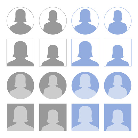 profile picture: Female profile icons