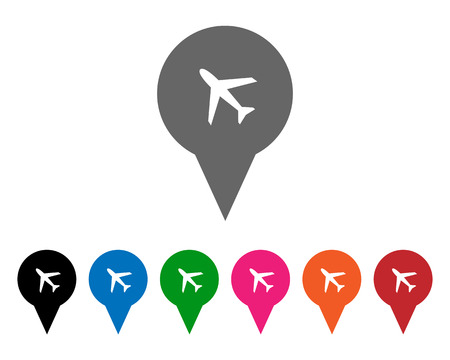 Airport pointers Vector