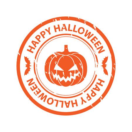 31: Halloween rubber stamp