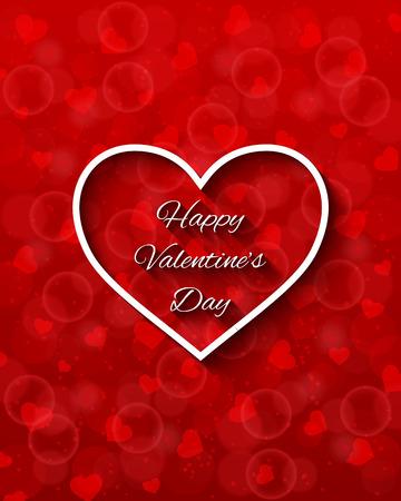 Valentines day card 矢量图像
