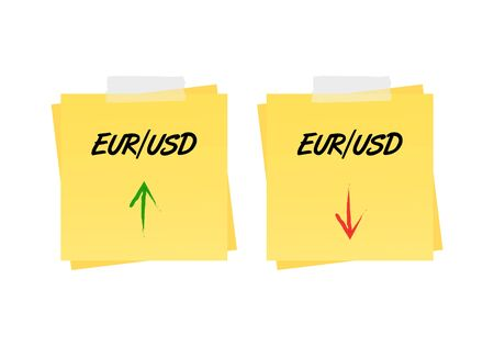 us paper currency: Eurusd up and down trend on reminders