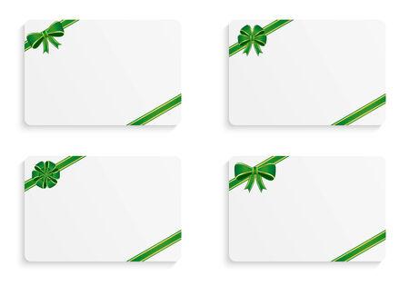 Gift cards 矢量图像