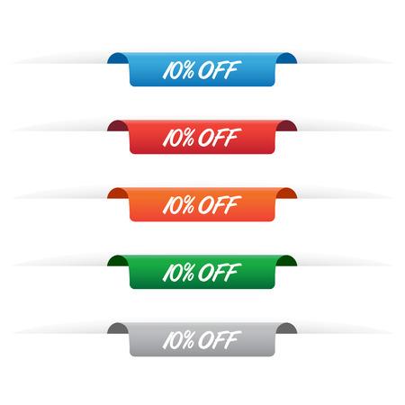 10% off paper tag labels