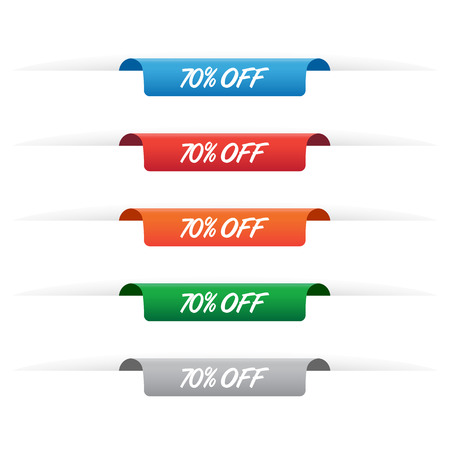 70% off paper tag labels