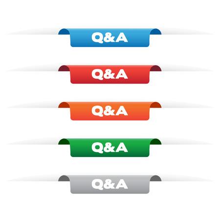 qa: Q&A paper tag labels