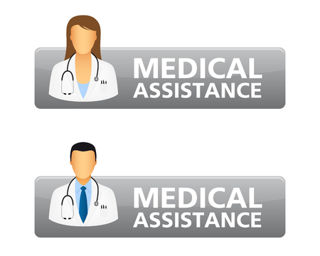 Medical assistance request buttons