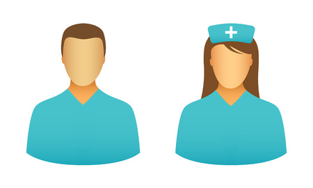 nursing uniforms: Iconos Enfermera