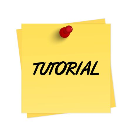 tutorial: Tutorial text on reminder