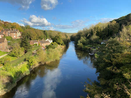 A view of the River Severn at Ironbridge Reklamní fotografie