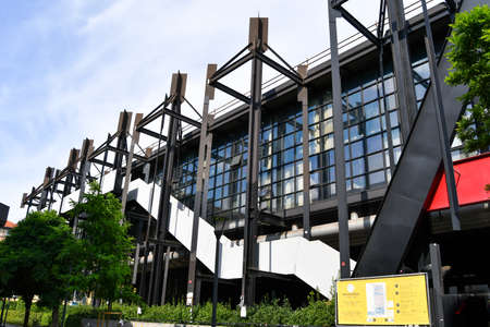 School campus of Urban Planning and Construction Engineering of the Polytechnic of Milan in Italy
