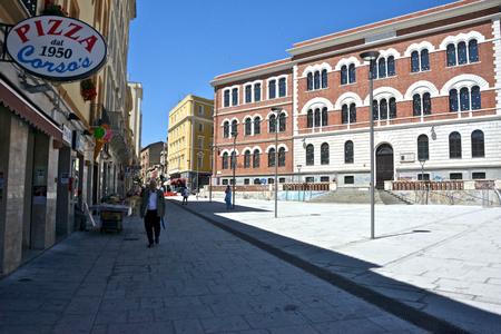 Garibaldis square in Cagliari