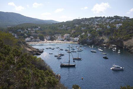 View of Cala Vedella, Ibiza