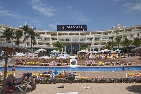 Resort in Playa Blanca in Lanzarote Editorial