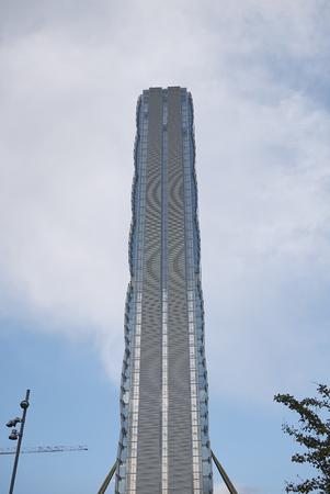 Milan, Italy - September 14, 2017 : Isozaki Tower
