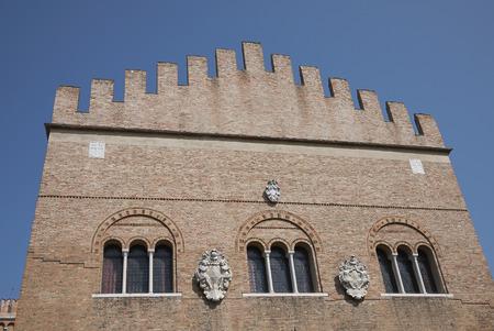 Treviso, Italy: View of Palazzo dei Trecento