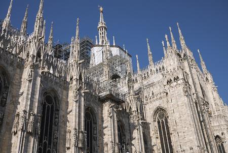 Milan, Italy: view of Milan Cathedral