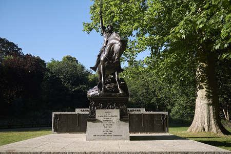 London, United Kingdom - June 26, 2018 : View of the Cavalry Memorial