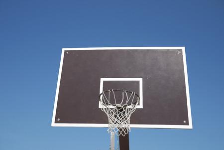 View of a Basketball hoop 版權商用圖片