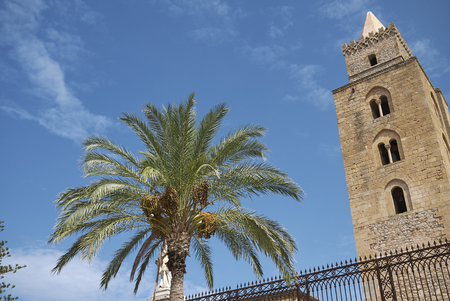 Cefalu, Italy: View of the Cathedral of Cefalu