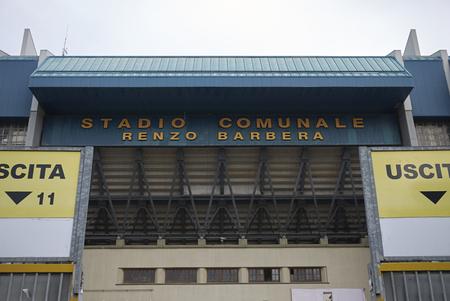 Palermo, Italy - September 10, 2018 : View of Renzo Barbera stadium