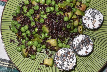 Assorted vegetarian plate Stock fotó