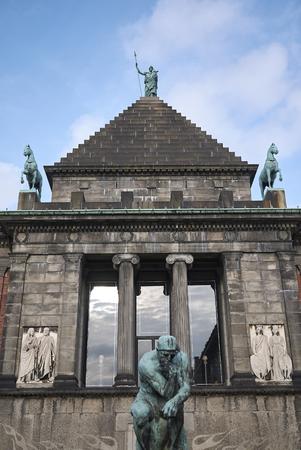 Copenhagen, Denmark - October 09, 2018: View of Ny Carlsberg Glyptotek