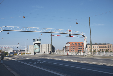 Copenhagen, Denmark - October 09, 2018 : View of Knippel bridge