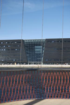 Copenhagen, Denmark - October 10, 2018 : View of the Royal Library Redakční