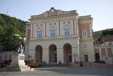 Cosenza, Italy - June 12, 2018 : View of Teatro Rendano