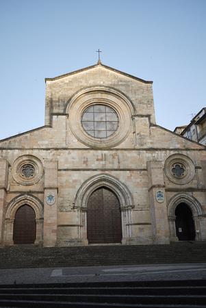 Cosenza, Italy - June 12, 2018 : View of Cosenza cathedral Archivio Fotografico