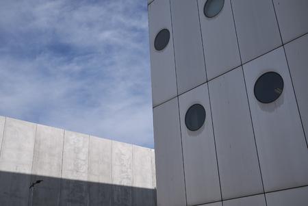 Milan, Italy - February 11, 2019 : View of Fiera Milano building Stock Photo