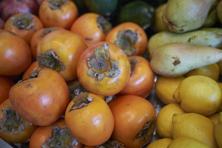 Assorted fruits in a market