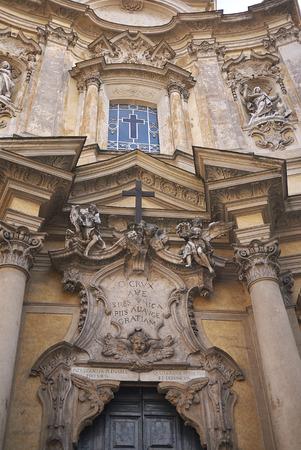 Roma, Italy - February 09, 2019 : Santa Maria Maddalena church Editorial
