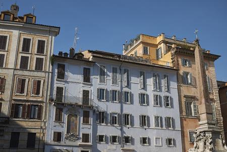 Roma, Italy - February 09, 2019 : View of PIazza della Rotonda
