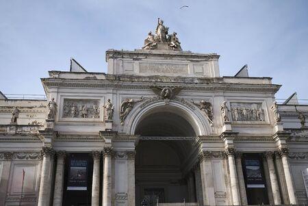 Rome, Italy - February 03, 2020 : View of Palazzo delle Esposizioni