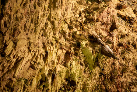 Castellana Grotte, Italy - September 04, 2020: View of the main cave, called La Grave, at Castellana cave Editorial