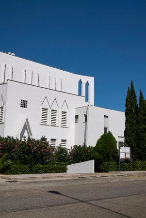 Taranto, Italy - September 06, 2020: View of Concattedrale Gran Madre di Dio