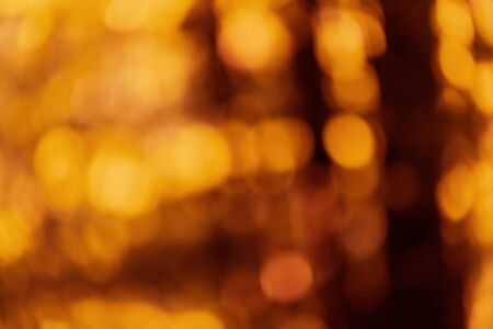 Abstract defocused colorful yellow orange brown blurred background