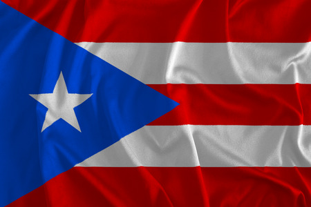 Flag of Puerto Rico Background
