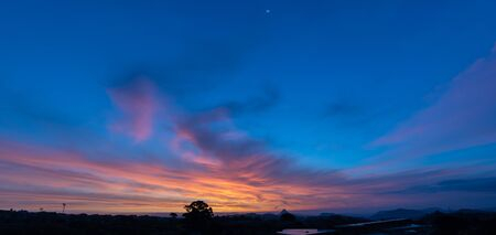 Wonderful Sunrise in Mazzarino, Caltanissetta, Sicily, Italy, Europe