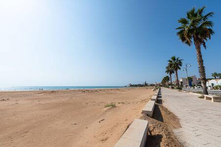 Donnalucata Promenade, Scicli, Ragusa, Sicily, Italy, Europe
