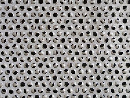 sheet steel: Holes in sheet steel