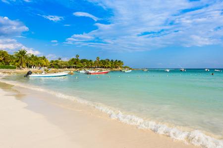 roo: Paradise beach at Akumal - Turtle Beach at Caribbean coast of Quintana Roo, Mexico