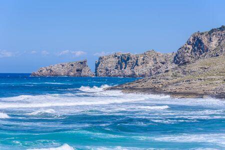 mallorca: Cala Mesquida - beautiful beach of island Mallorca, Spain
