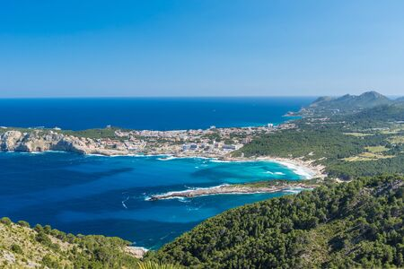 mallorca: Cala Agulla and beautiful coast at Cala Ratjada of Mallorca, Spain