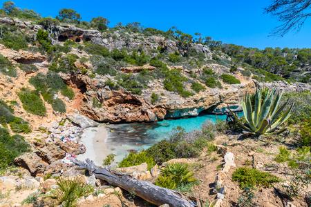 Calo Des Moro - beautiful bay of Mallorca, Spain Stock Photo