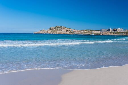 playa: Cala Agulla on Mallorca, Spain Stock Photo