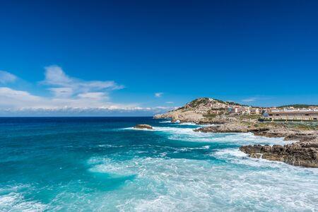 Coast of Cala Ratjada of Mallorca, Spain