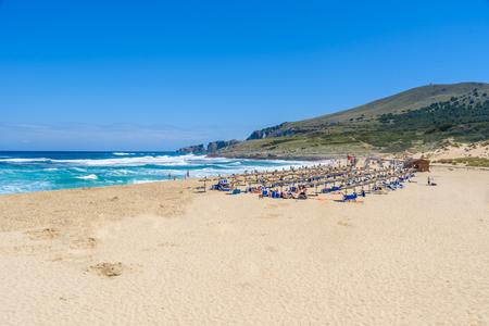 Cala Mesquida - beautiful beach of island Mallorca, Spain