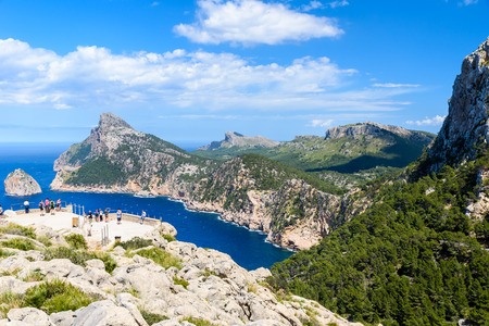 キャップ de フォーメントー - マヨルカ、スペインの beaufitul 海岸 - ヨーロッパ